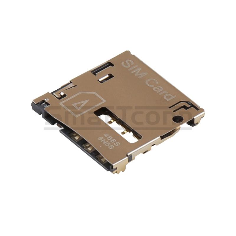 规格:micro sim 卡座 h=1.35mm