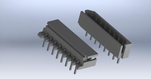 电子连接器的制造由设计至成品,可分为金属与塑料两部分.金属部份除了材料选用之外,电镀和冲模为主要工作;塑模方面的工作则是塑模设计,开模,射出成型,然后配合金属组件组立成电子连接器.电子连器用于电气产品中,顾名思义它是扮演着电子讯号或组件的连接,是属于一种多元并合或组装的产品,并盖金属片材,表面电镀,精密加工与塑料成型等关键技术.